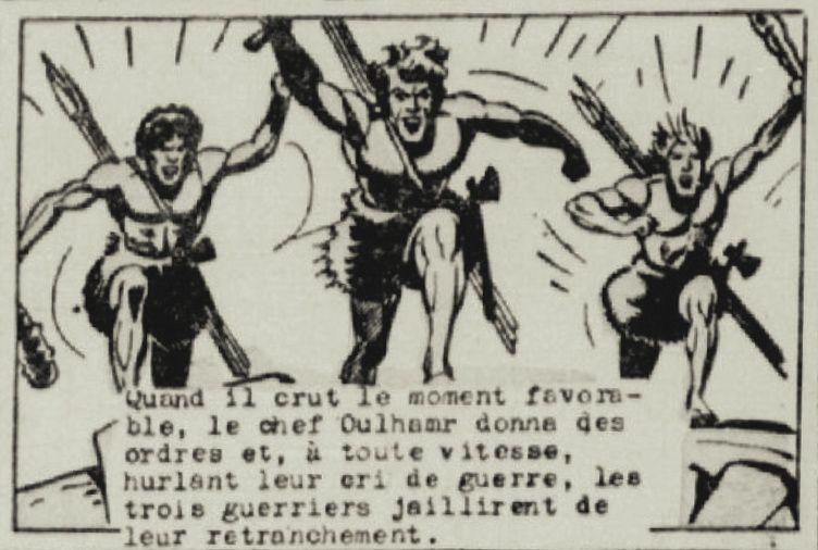 """J.-H. Rosny aîné """"La Guerre du Feu"""", par René Pellos in L'Action Catholique (1951/1952)"""