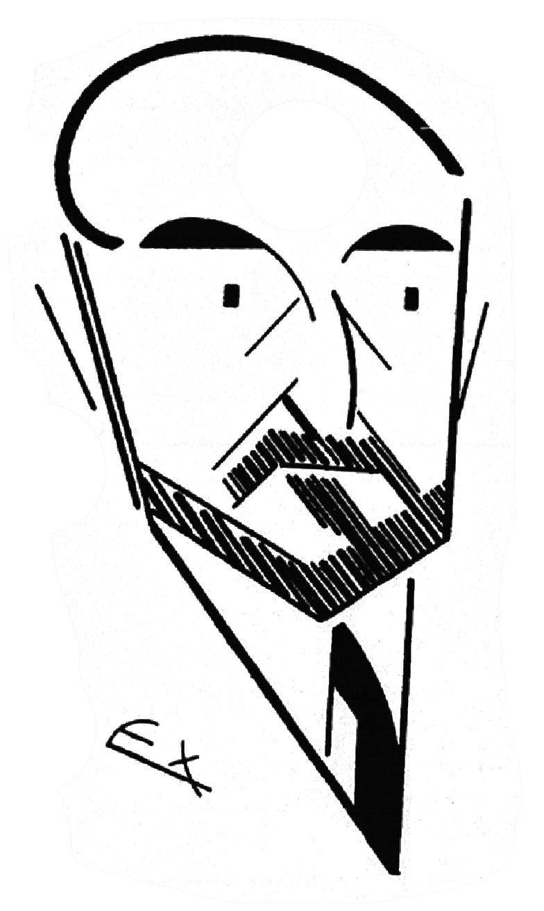 """Armand Rio """"J.-H. Rosny aîné, de l'Académie Goncourt"""" in Le Jardin des Lettres n°22 (décembre 1932)"""