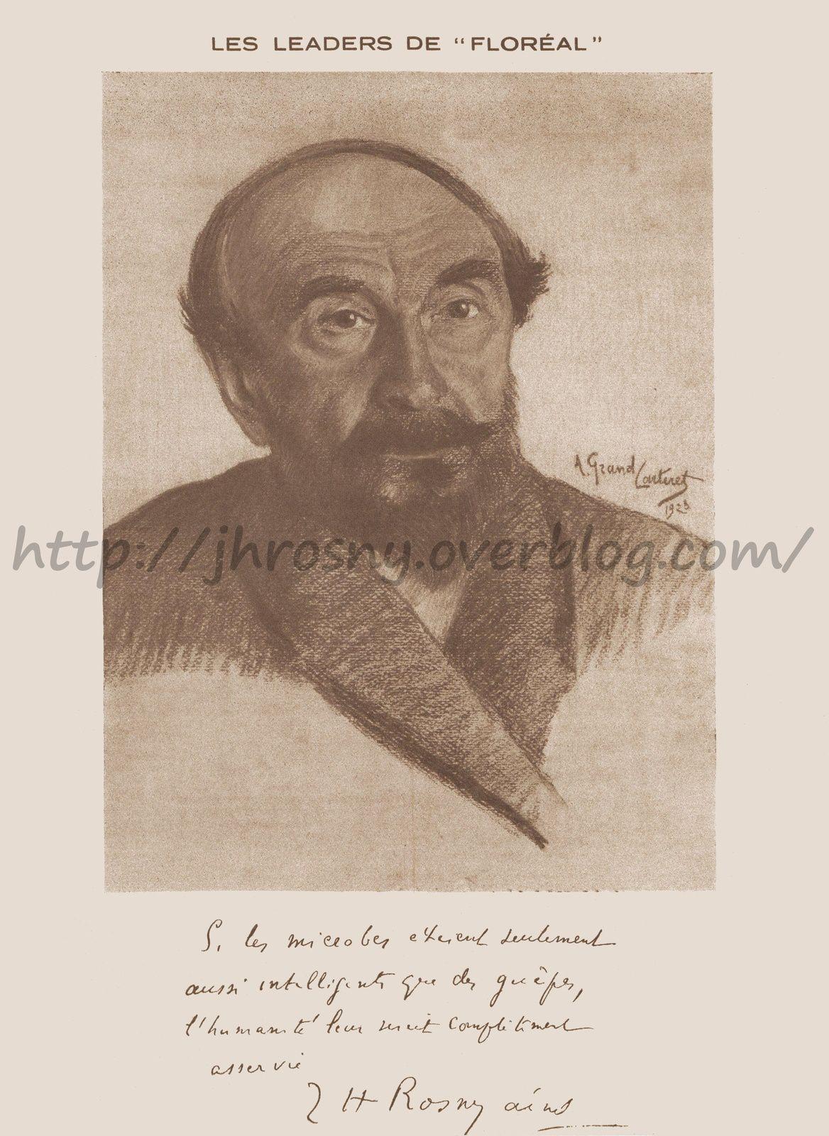 DOSSIER : J.-H. Rosny aîné dans Floréal