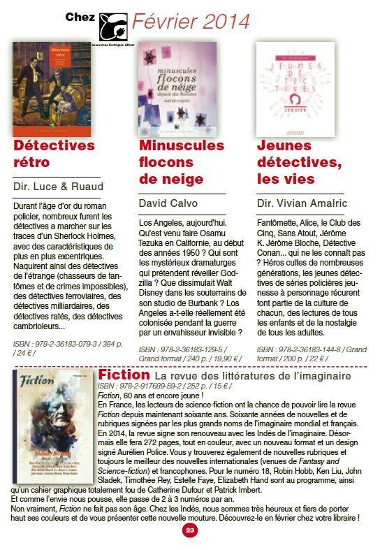 L'Indé de l'imaginaire n°2 (Printemps 2014)