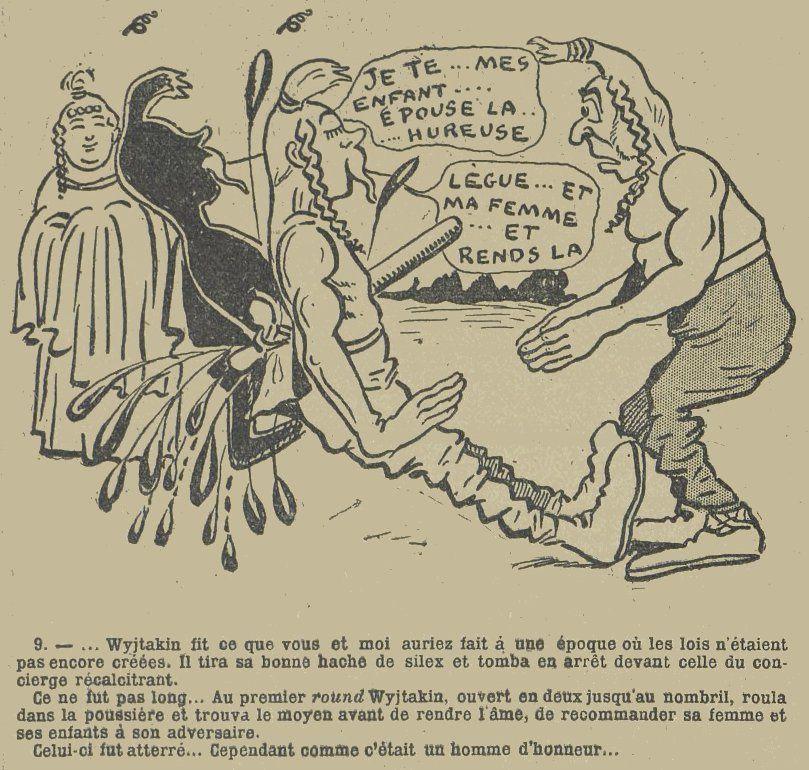 """A. Blondeau """"Un point d'histoire éclairci"""" in Les Récits de la jeunesse n°38 du 1er mars 1909."""