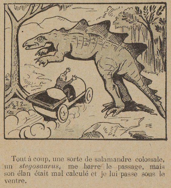 """Georges Cyr """"Incroyable aventure d'un vieux savant"""" (1906)"""