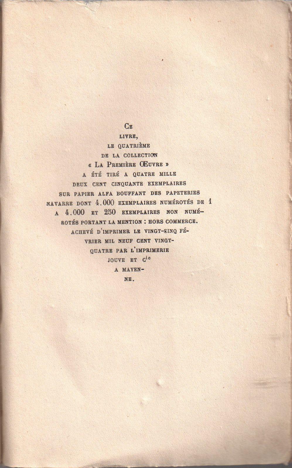 """Léon Lemonnier """"Entente cordiale"""" (Flammarion - 1924), sous le parrainage de J.-H. Rosny aîné"""