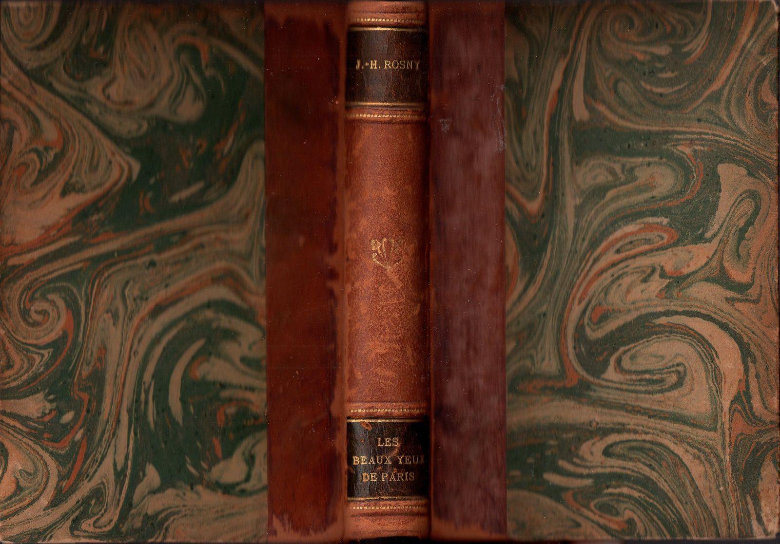 """J.-H. Rosny Jeune """"Les Beaux yeux de Paris"""" (Editions de France - 1926)"""
