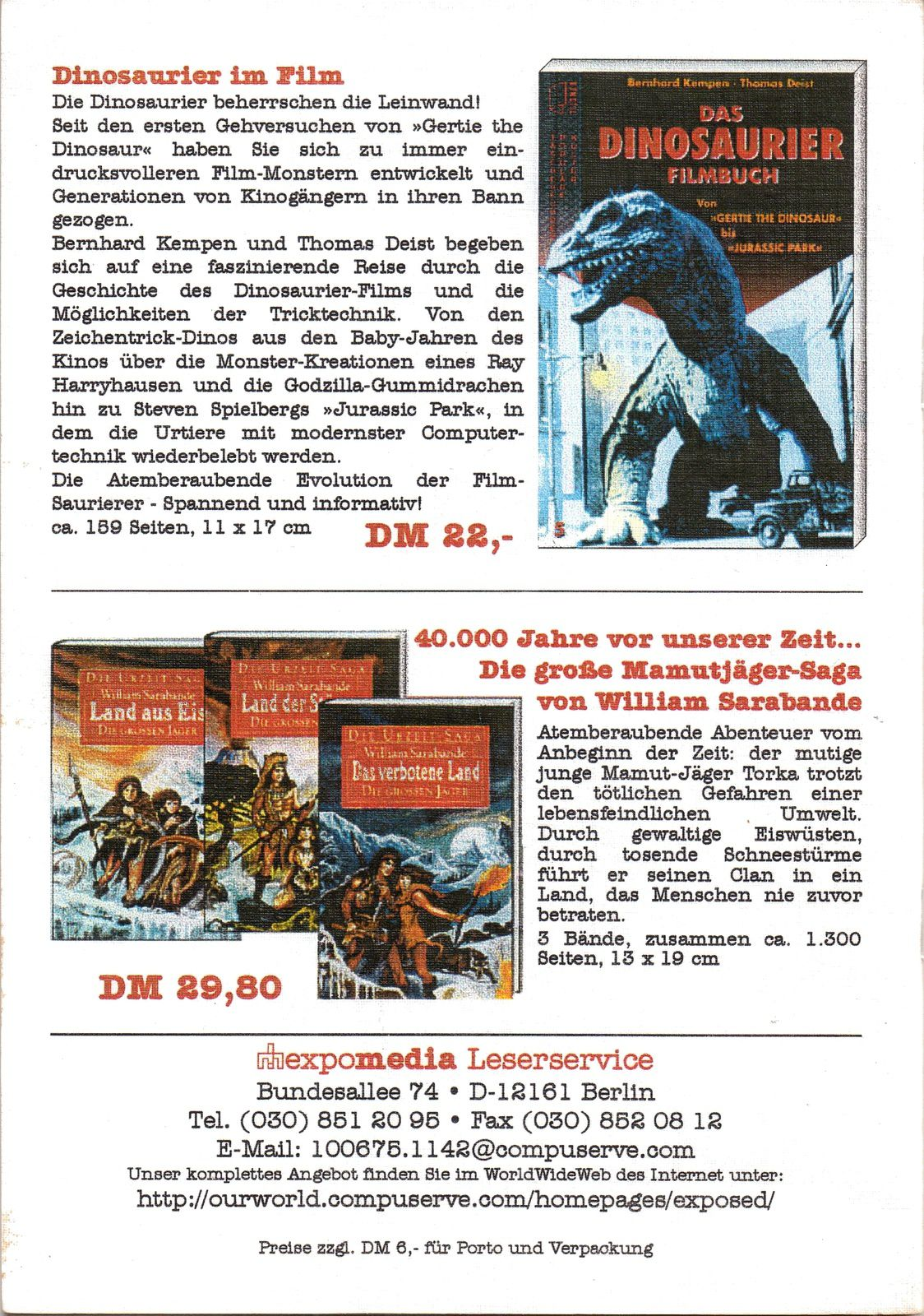 Prehistoric News n°12 (Bernhard Kempen - 1996)