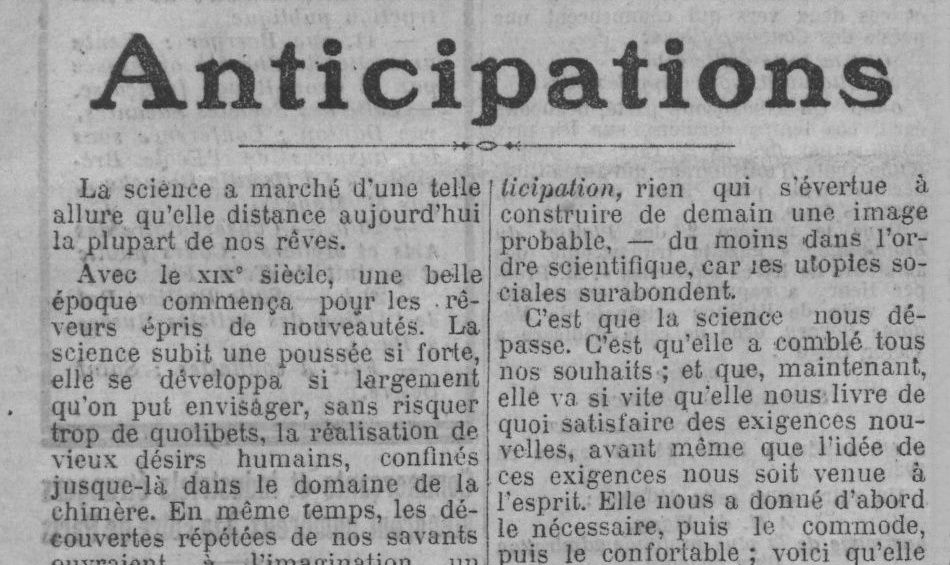 "Maurice Renard ""Anticipations"" (1925) & Paul Reboux ""Maurice Renard"" (1925)"