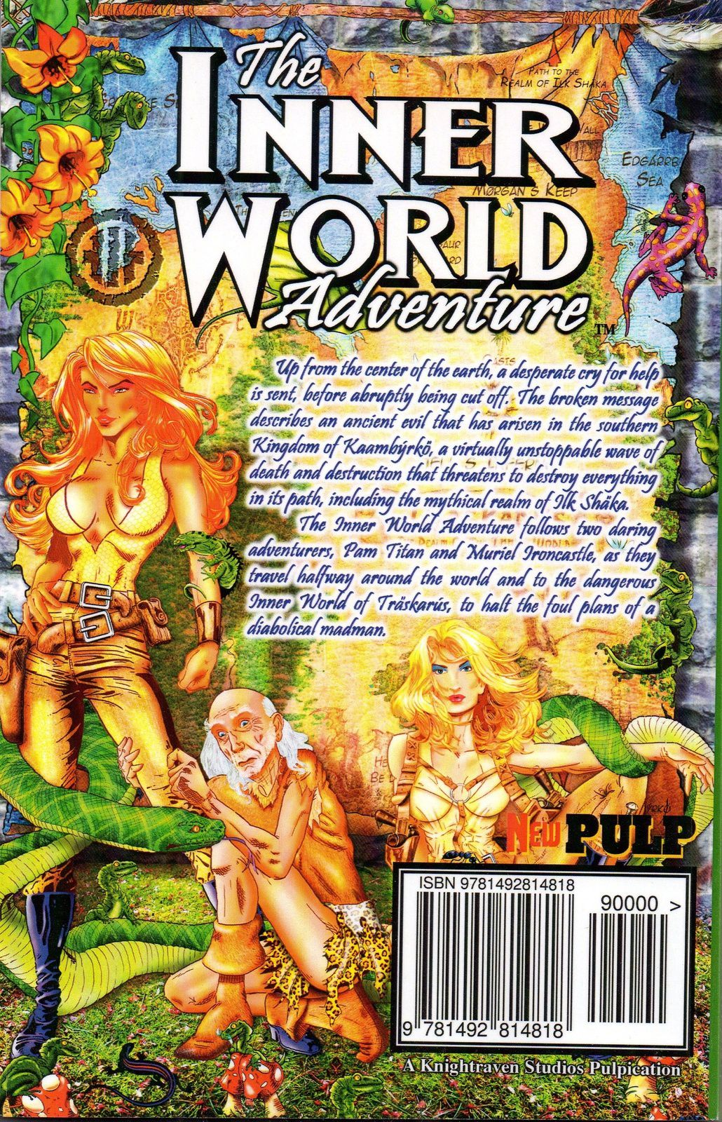 "Allusions : Wayne A. Reinagel ""The Inner World Adventure"" (Knightraven Studios - 2013)"