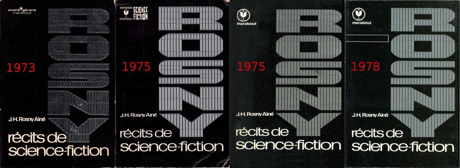 """RECHERCHE INFOS sur """"Récits de science-fiction"""" de J.-H. Rosny aîné"""