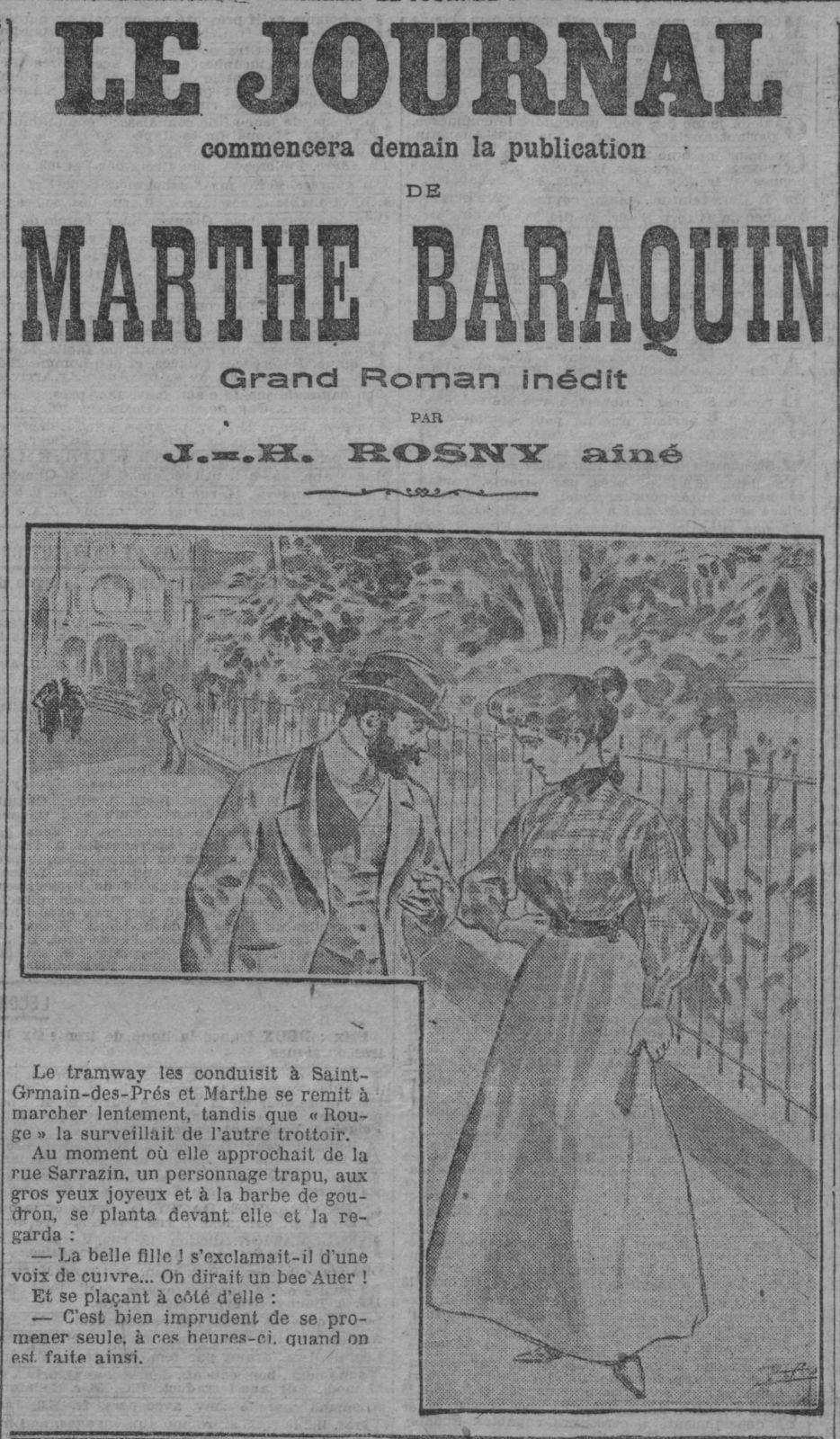 Les origines de la séparation des frères J.-H. Rosny en 1908