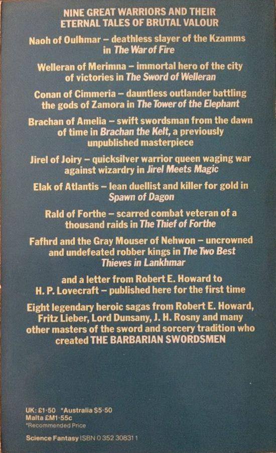 (dir.) Sean Richards - The Barbarian Swordsmen (Star Books - 1981)