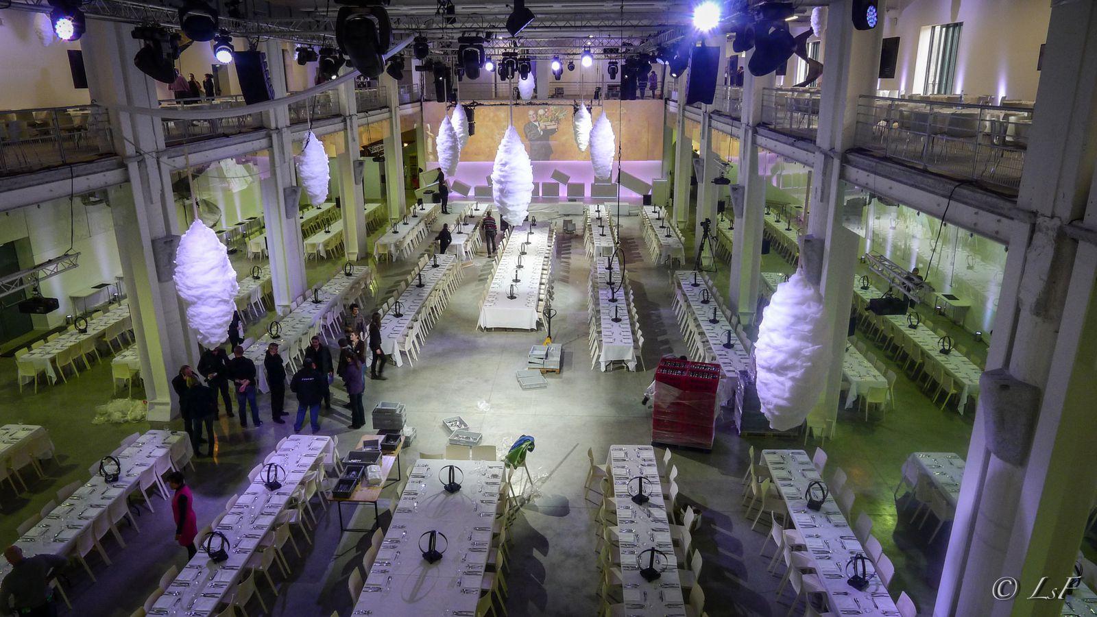 Soirée de Clôture du Sirha 2013 à la Sucrière de Lyon