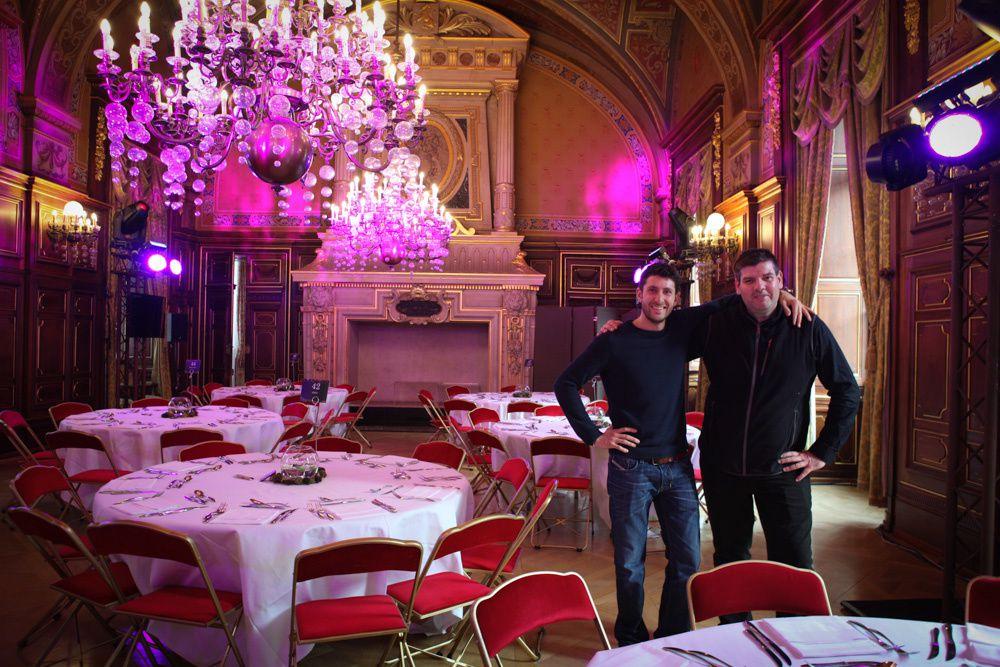 Remise du Prix Fête des Lumière 2014, Hôtel de Ville de Lyon