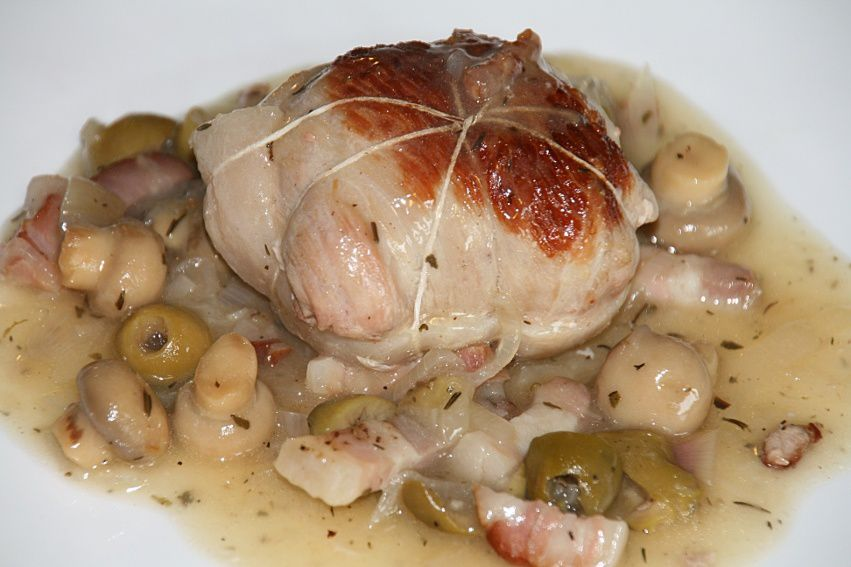 Paupiettes de veau aux olives mamie - Recette paupiette de porc facile ...