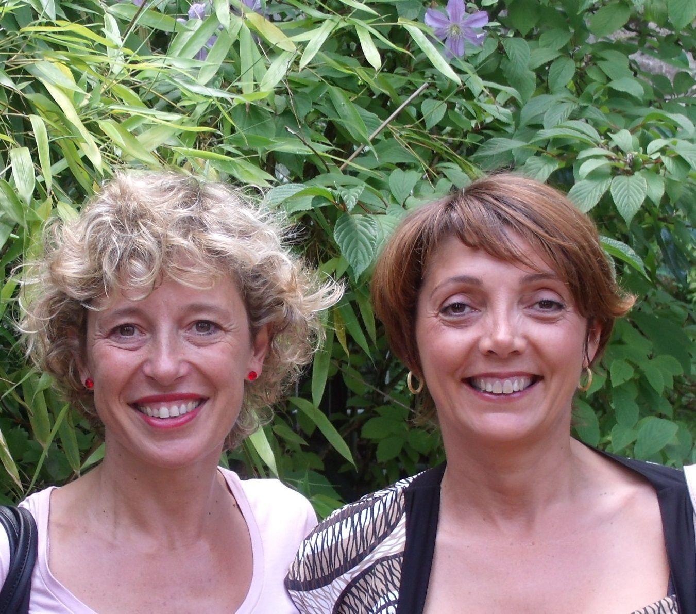 Muriel FISCHBACH et Valérie LEROUGE ( de gauche à droite)