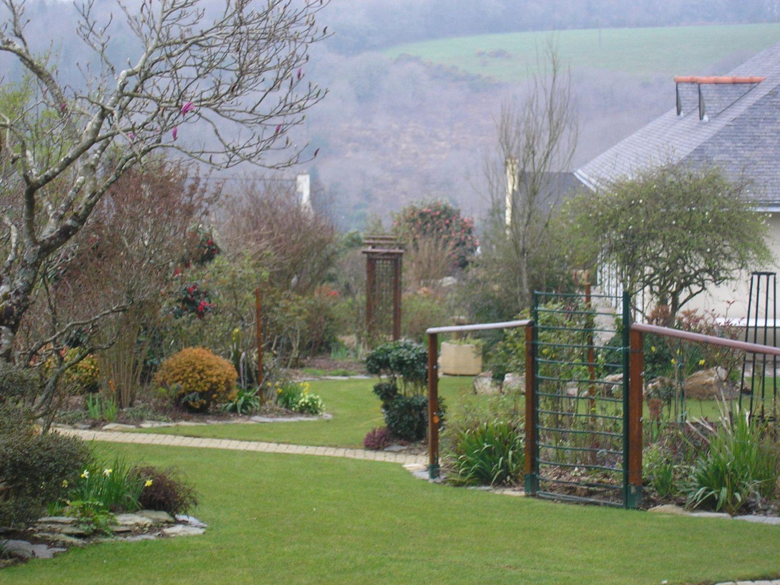 Le jardin de mes parents (fin mars 2013)
