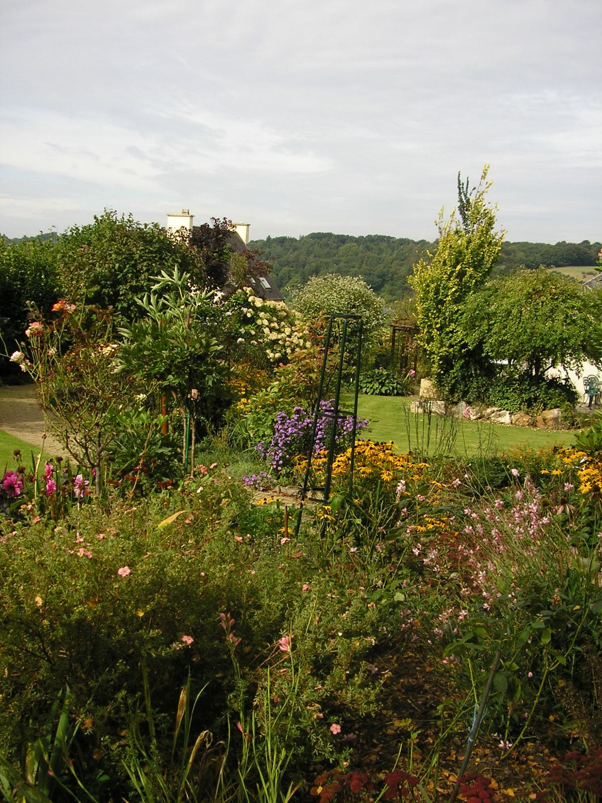 Le jardin de mes parents en septembre