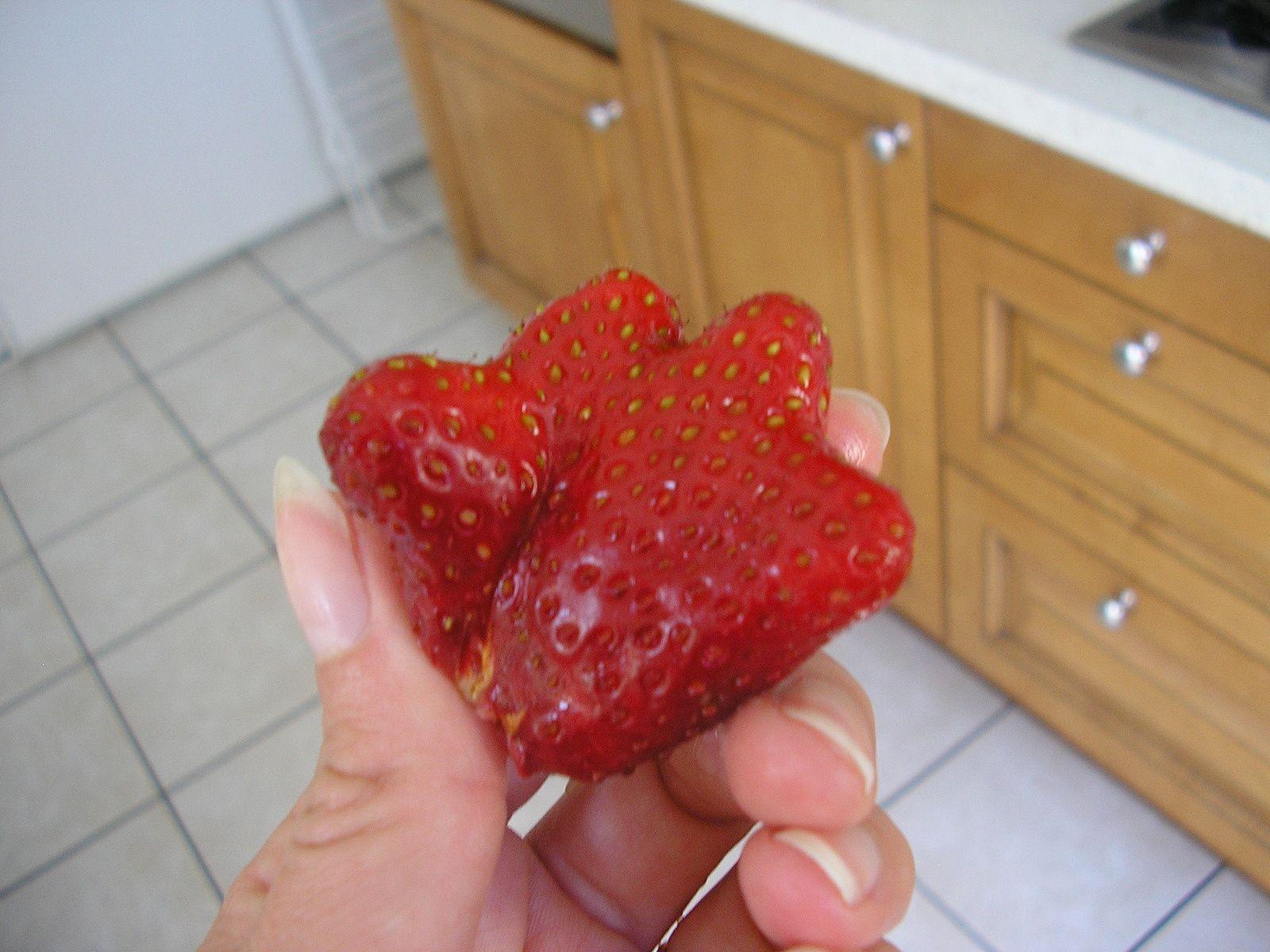 Drôle de fraise!