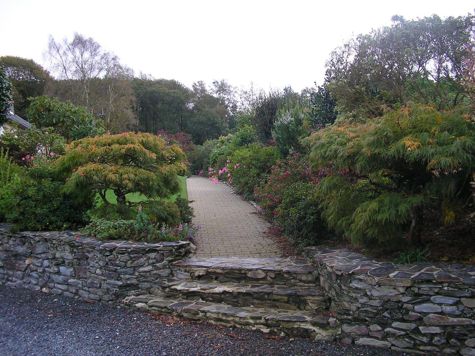 Le jardin de mes parents au mois d'octobre
