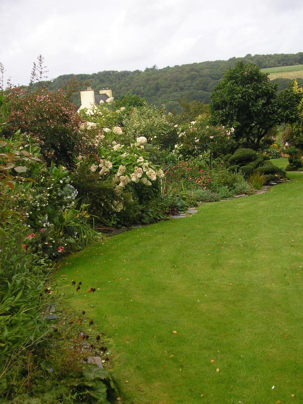 Le jardin de mes parents fin août 2015