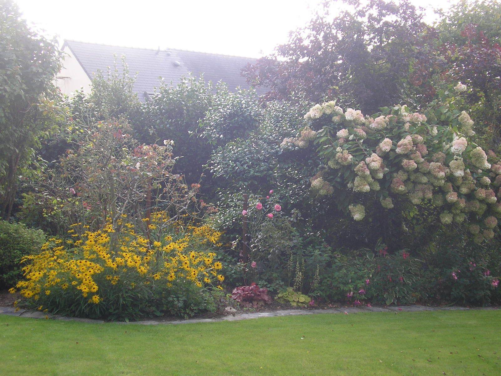 Le jardin de mes parents début septembre 2017