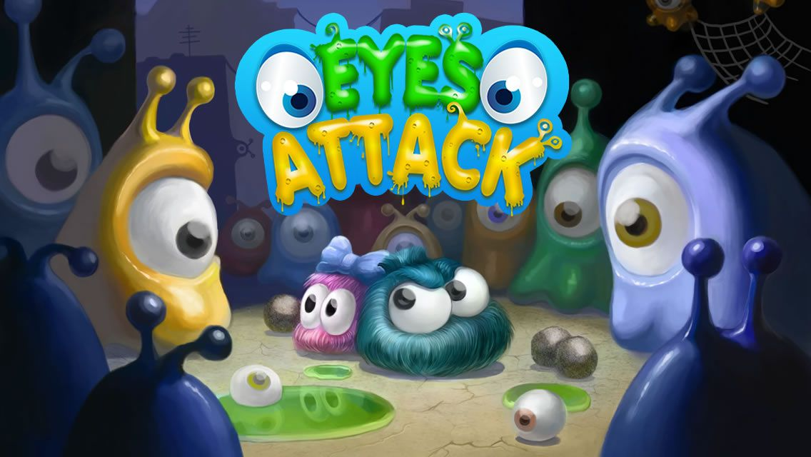 Eyes Attack - Un original jeu d'action 'tilt and shoot'