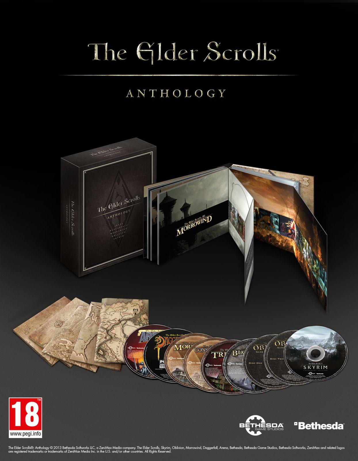Bethesda annonce la sortie de The Elder Scrolls Anthology sur PC