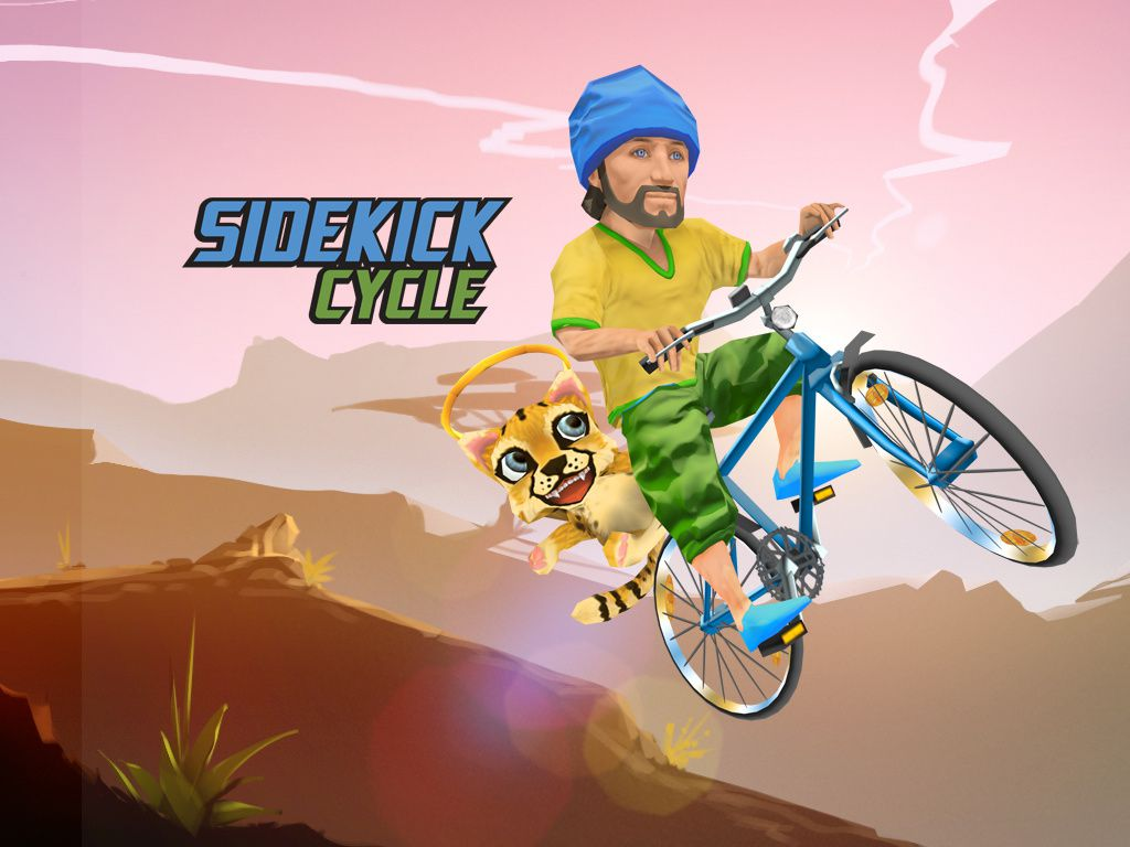 sidekick cycle un jeu de course de descente v lo sur ios gamactu l 39 actualit du jeu vid o. Black Bedroom Furniture Sets. Home Design Ideas
