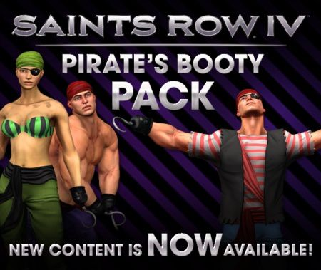 Saints Row IV - Le Pirate's Booty Pack est disponible