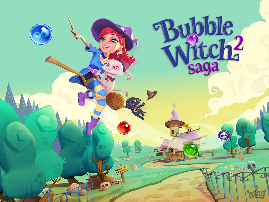 Bubble Witch Saga 2 débarque sur mobiles, tablettes et Facebook