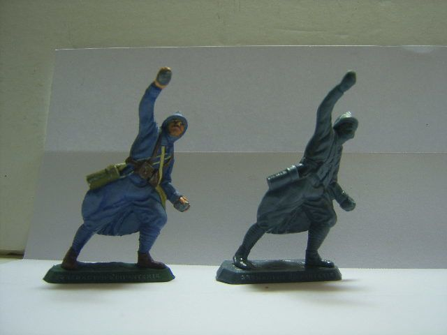 Figurine - Lanceur de grenades -