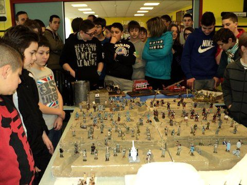 EXPOSITION 14/18 au lycée de PIENNES