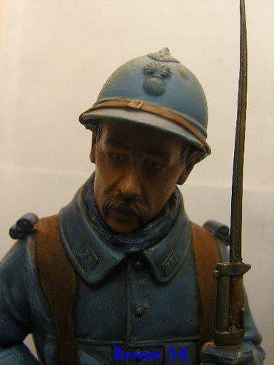 BUSTE POILU - VERDUN 1916 - au 1/10