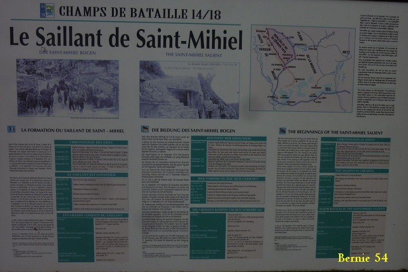 Ballade sur le SAILLANT de SAINT MIHIEL