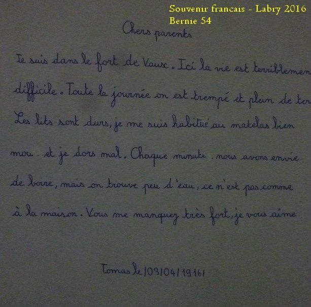 Exposition avec le Souvenir Francais - 2 -
