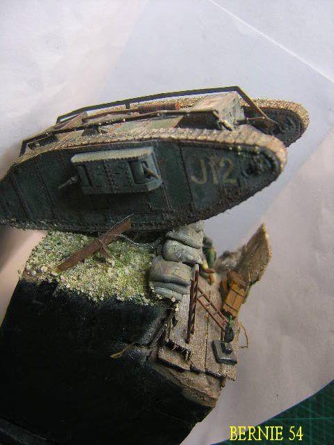 Maquette au 1/72 - CHAR ANGLAIS MK4 FEMALE - EMHAR