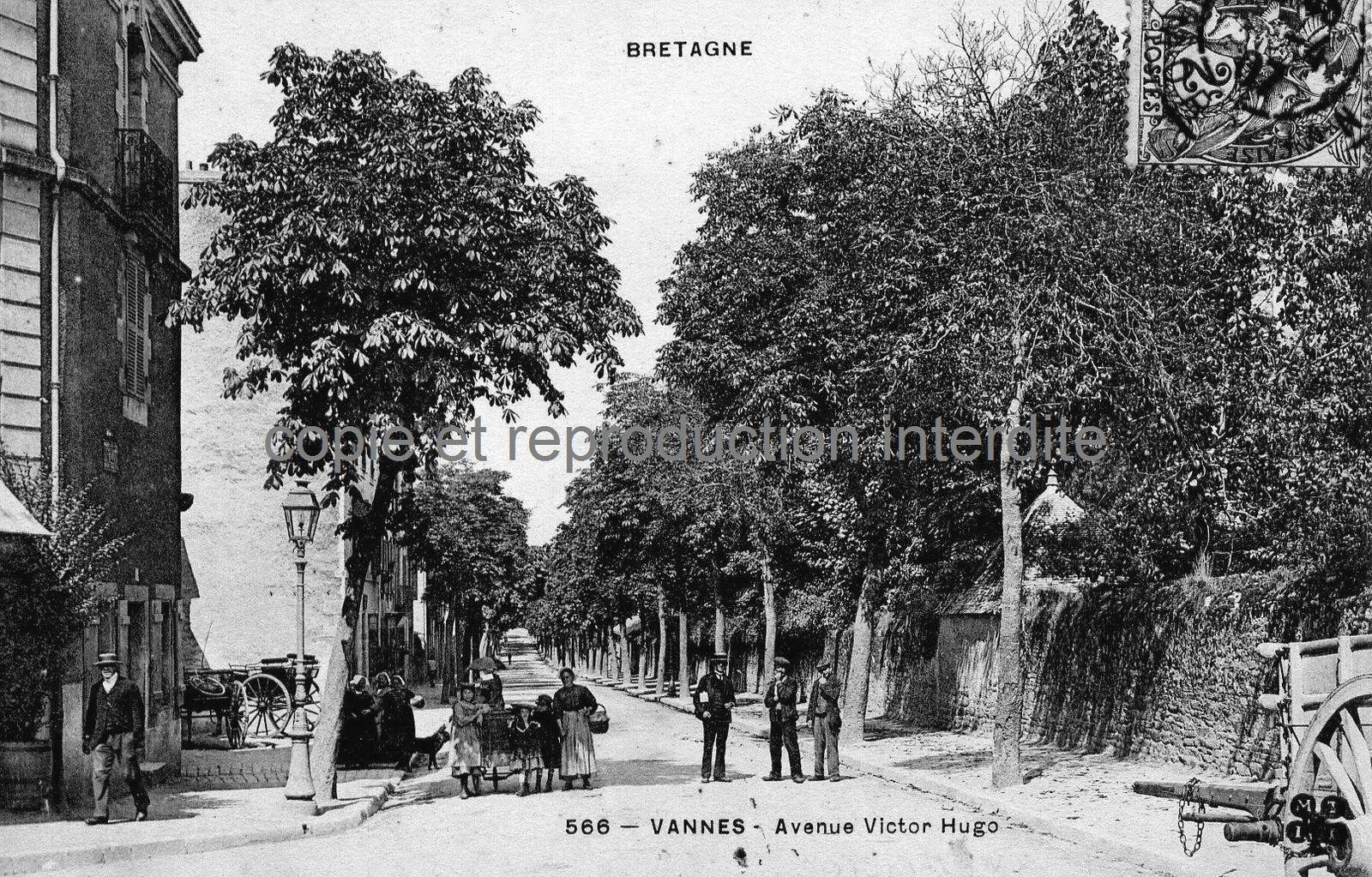 L'avenue Victor Hugo