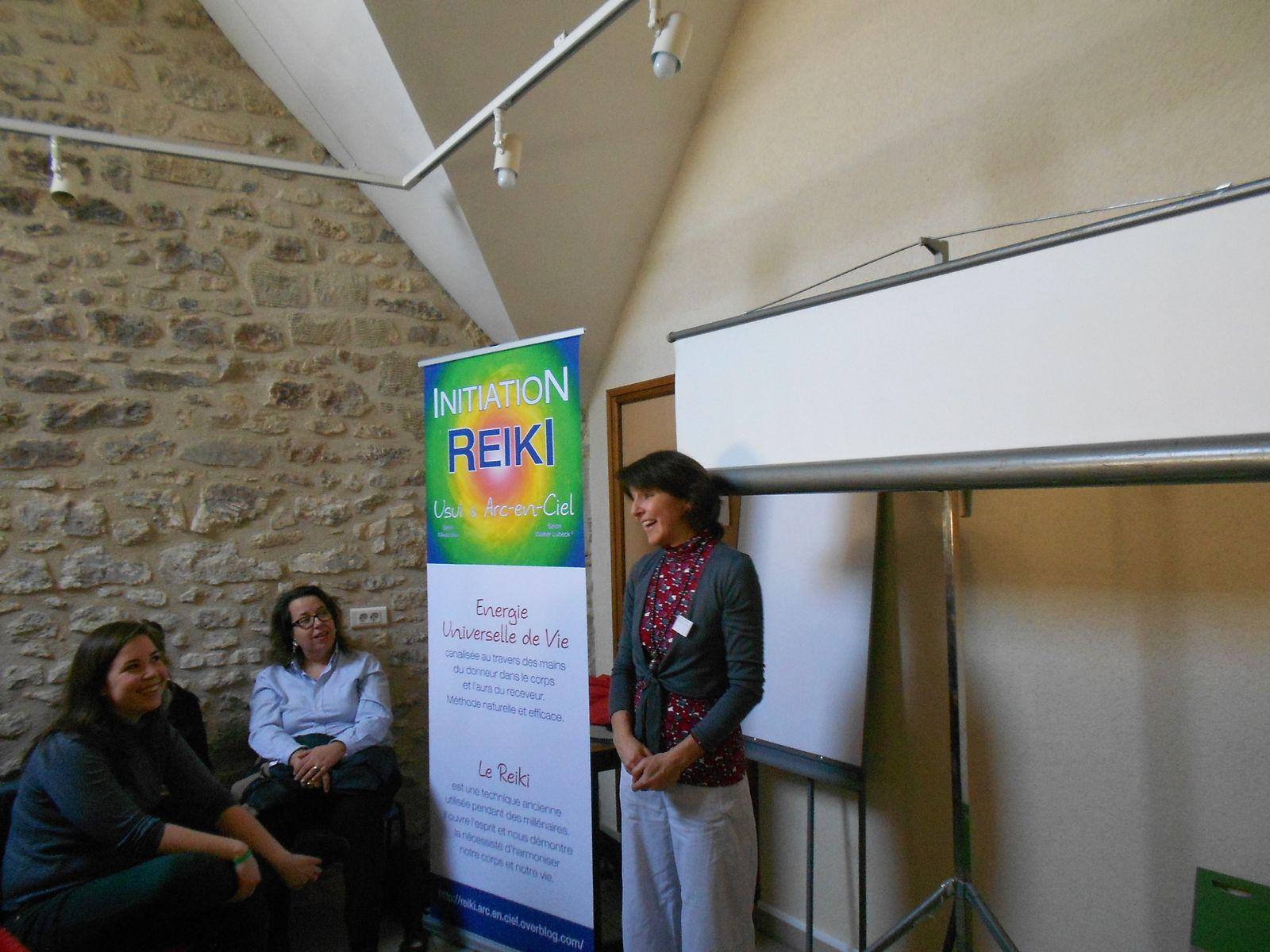 Conférence &quot&#x3B;équilibrer le bassin par le Reiki Arc-en-Ciel&quot&#x3B; lors du salon de bien-être à Gouvieux