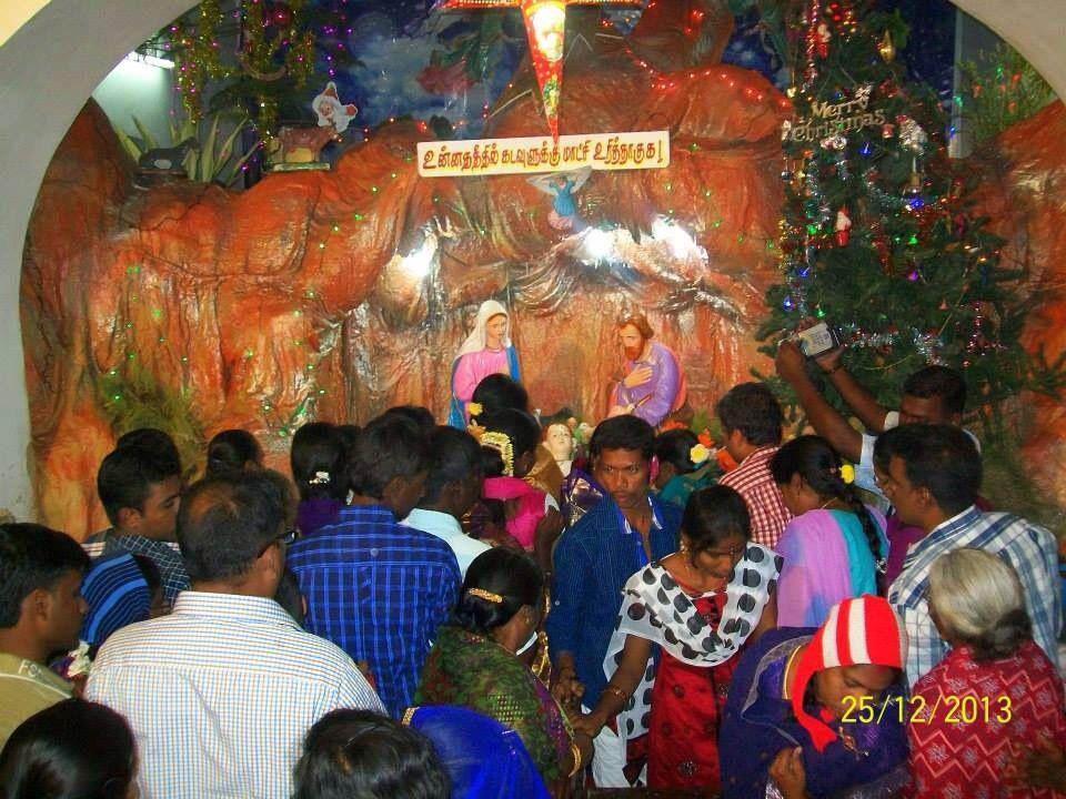 Une nuit de Noël ,du côté de l'océan indien !...Pondicherry