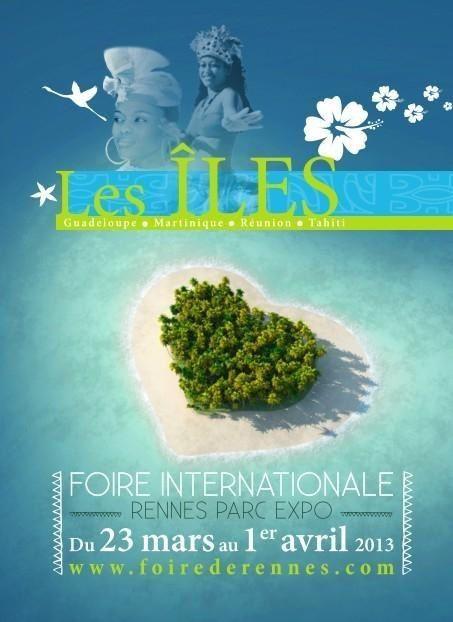 Affiche de la Foire expo Rennes- Saint Jacques