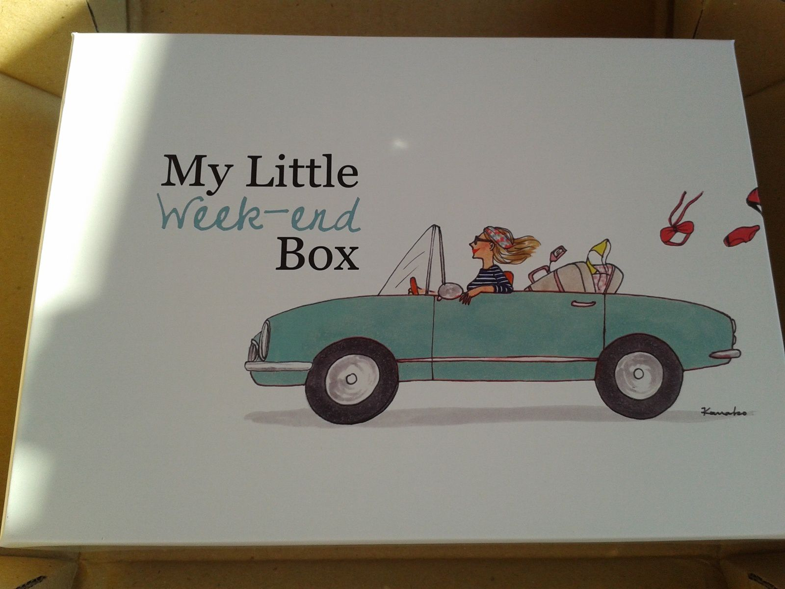 My Little Weekend Box...