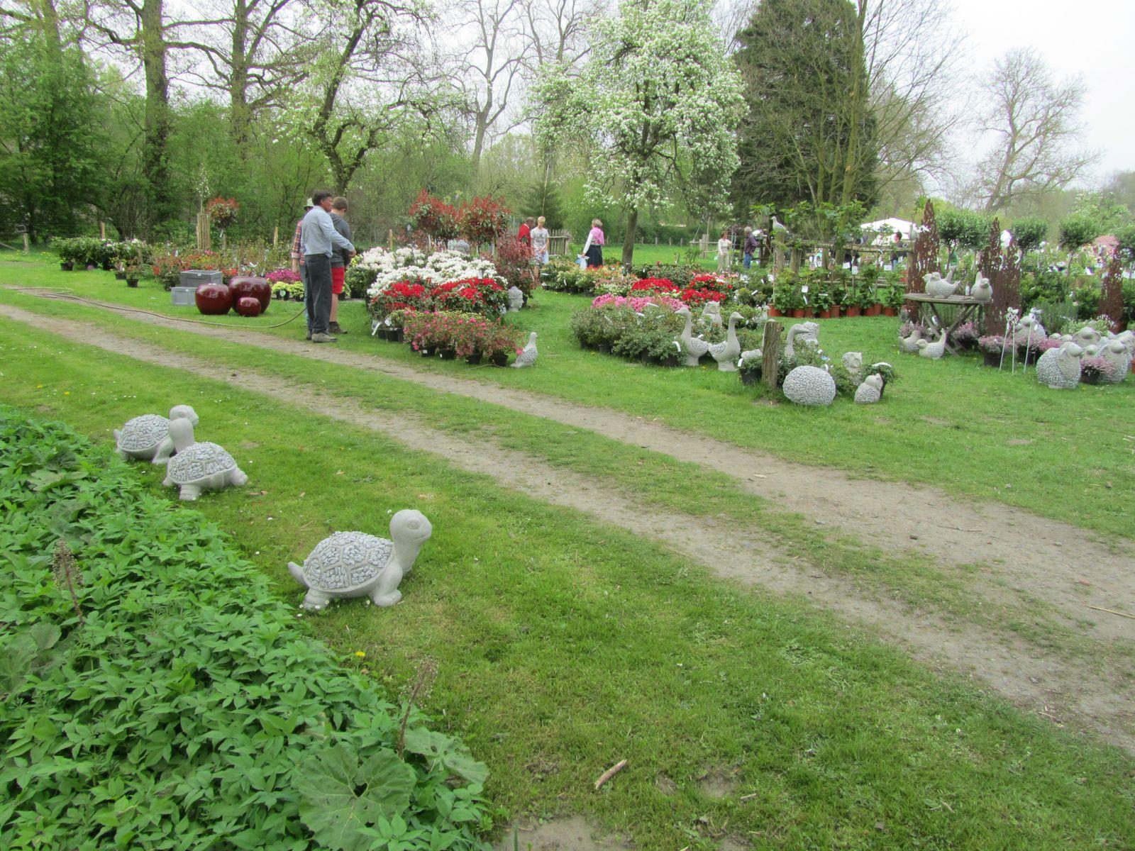 Les Jardins de l'Abbaye d'Aywiers en Belgique