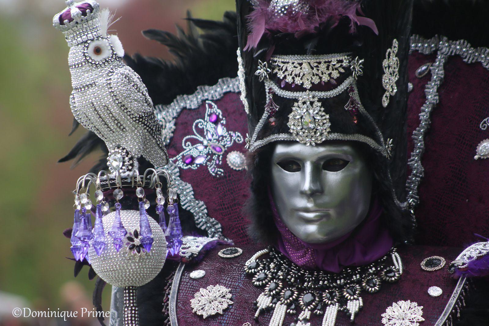 Costumés de Venise à Annevoie