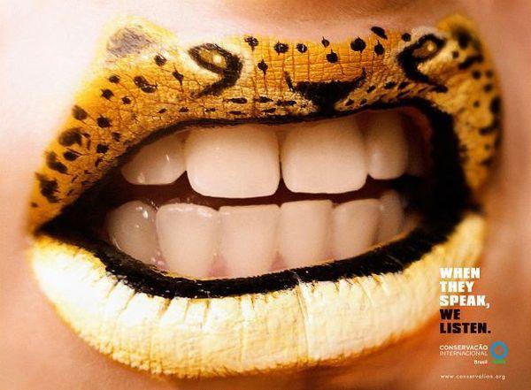 Le lips art