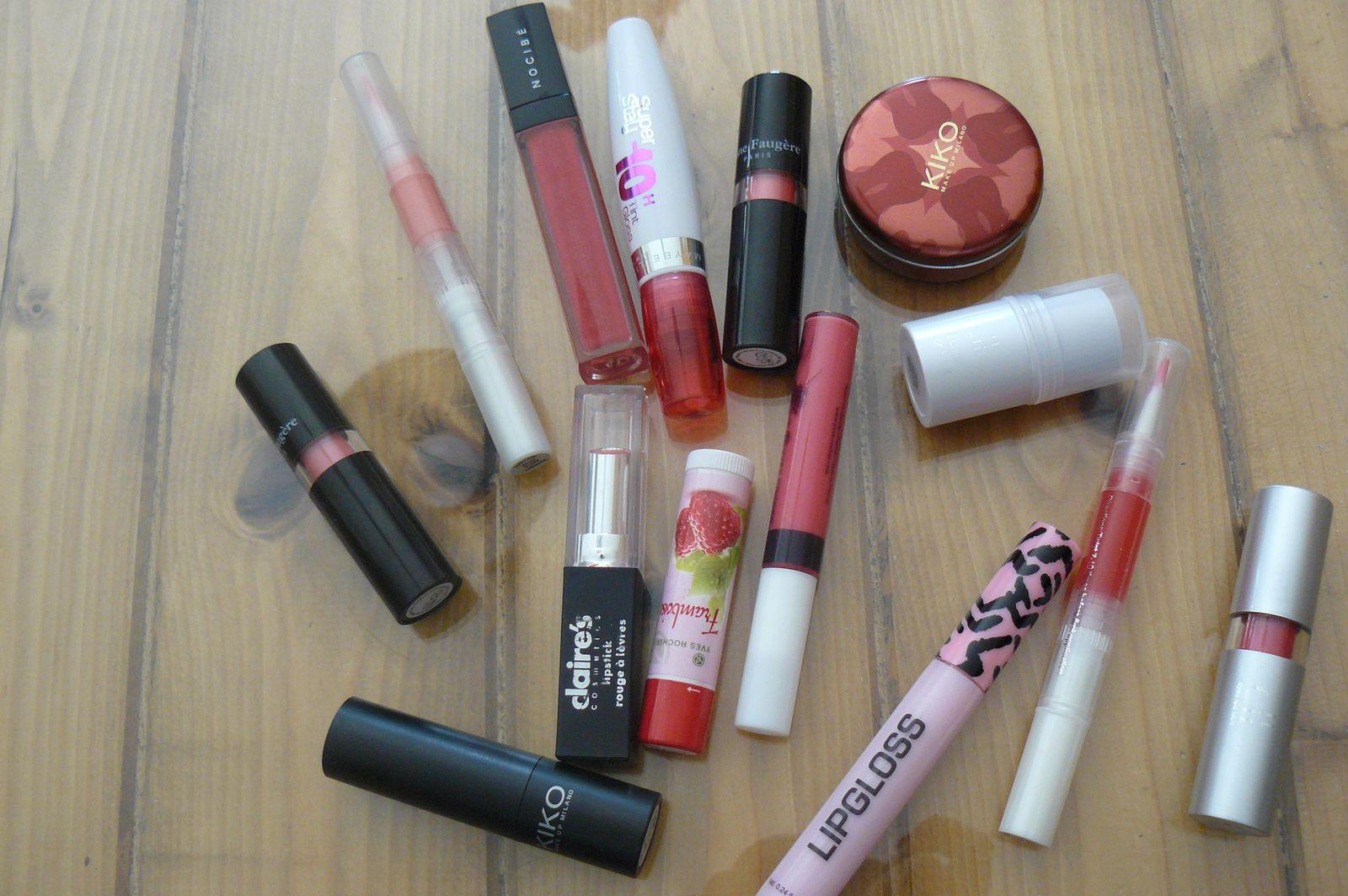 Mes 5 produits préférer pour les lèvres