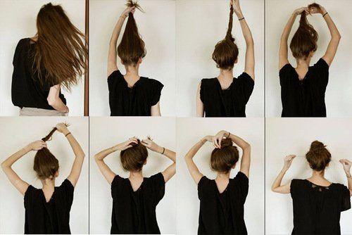 Tuto coiffure: chignon &quot&#x3B;a larache&quot&#x3B;