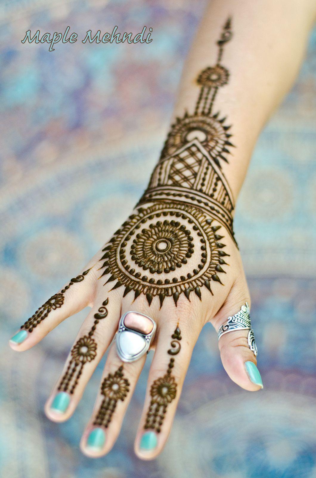 صور نقش الحناء / Tatouage au henné