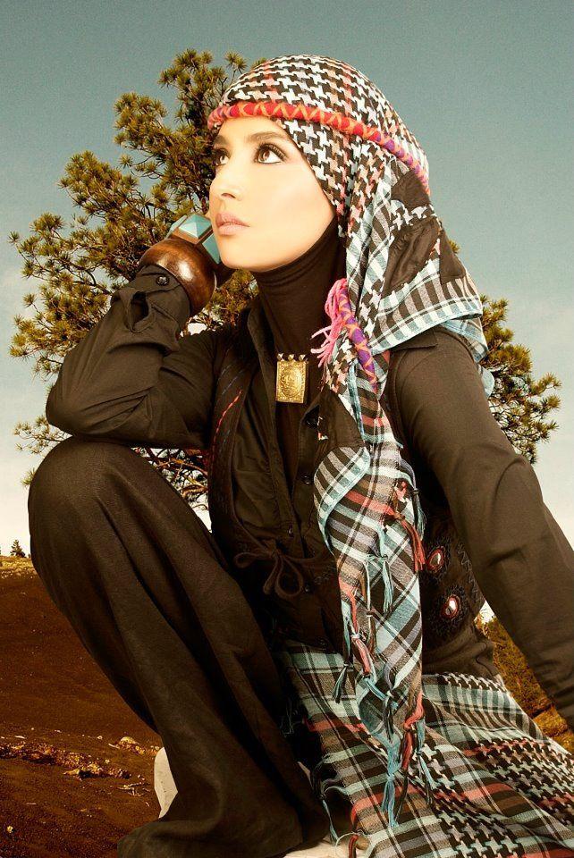 الحجاب على طريقة حنان ترك