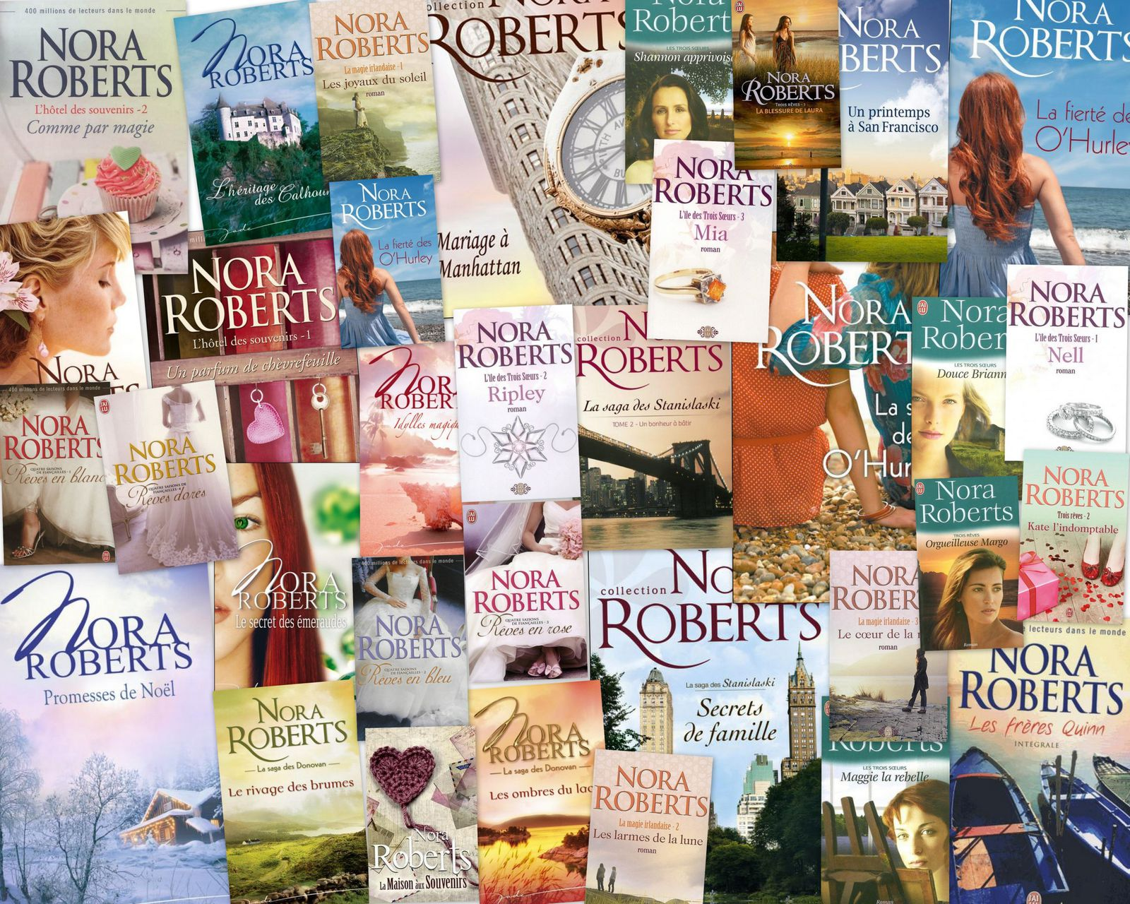 Collection nora roberts my literary world - Coup de coeur nora roberts ...