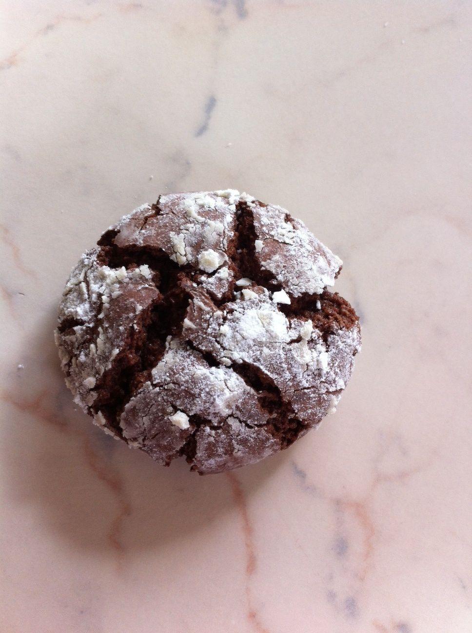 craquelés(crinkles) au chocolat (thermomix)