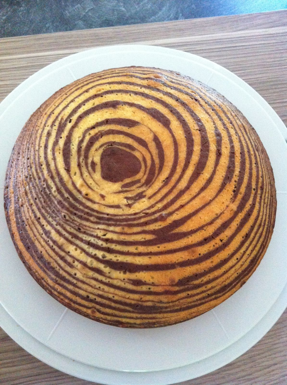 Gâteau tigré (sans thermomix)